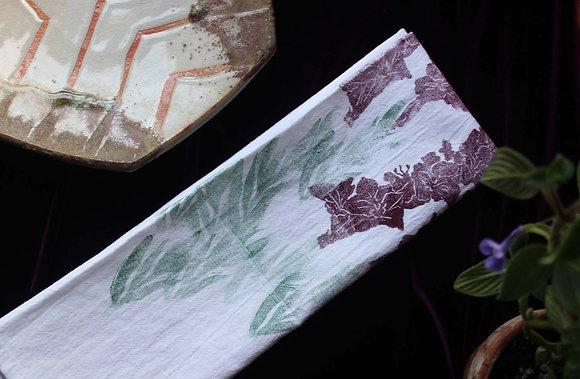 gladiola cotton towel