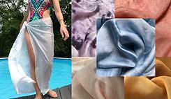 silk beach wrap, beach accesory bathing suit