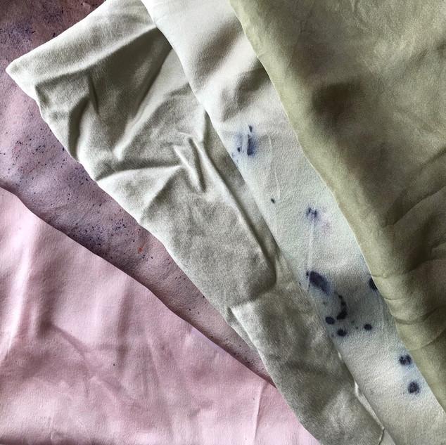 pinks to greys