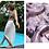 Thumbnail: silk beach wrap in deep lavender
