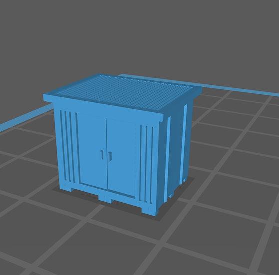 【3Dデータ】情景小物 家庭用倉庫