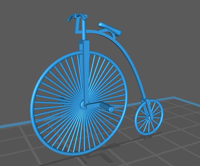 【3Dデータ】初期マクミラン自転車