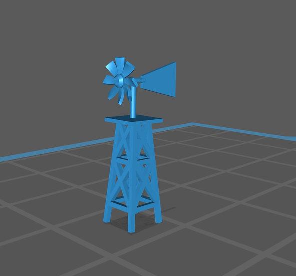 【3Dデータ】サーフショップ 風見鶏