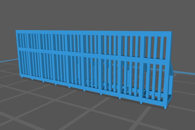 【3Dデータ】情景小物 鉄ゲート