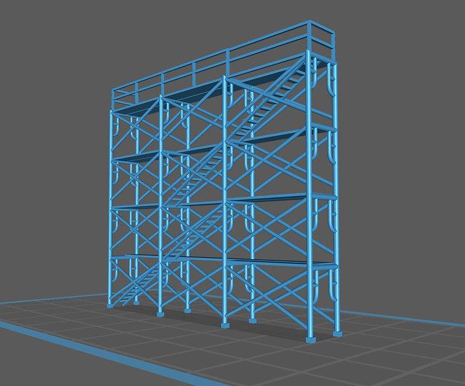 【3Dデータ】情景小物 建築足場