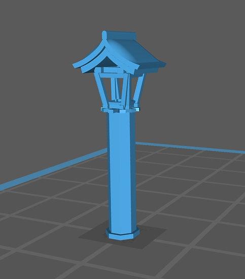 【3Dデータ】情景小物 神社 灯篭