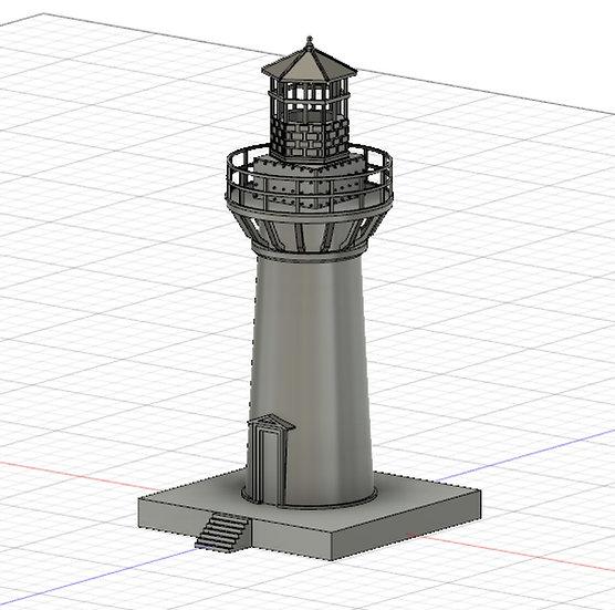 【3Dデータ】小さな灯台