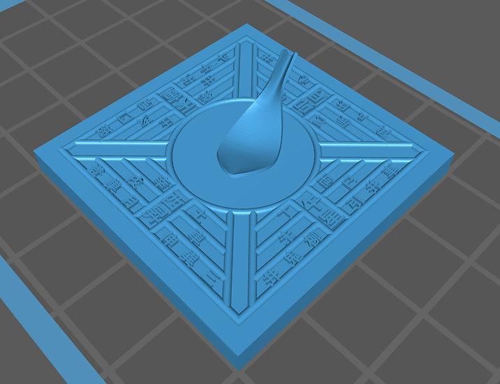 【3Dデータ】中国羅針盤