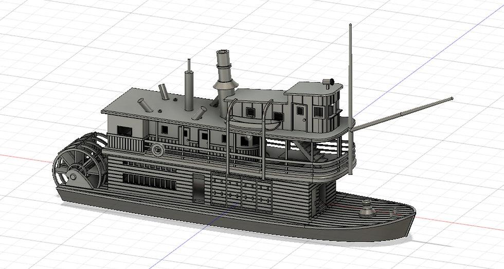 【3Dデータ】遊覧船