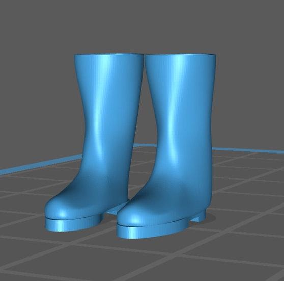 【3Dデータ】長靴 1/24サイズ