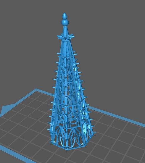 【3Dデータ】ゴシック建築 屋根装飾