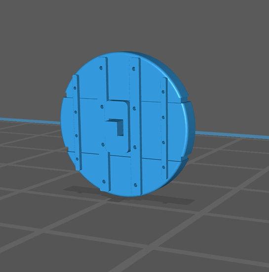【3Dデータ】古代の車輪 BC3200 メソポタミア