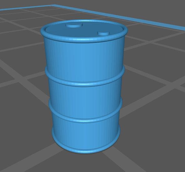 【3Dデータ】情景小物 ドラム缶
