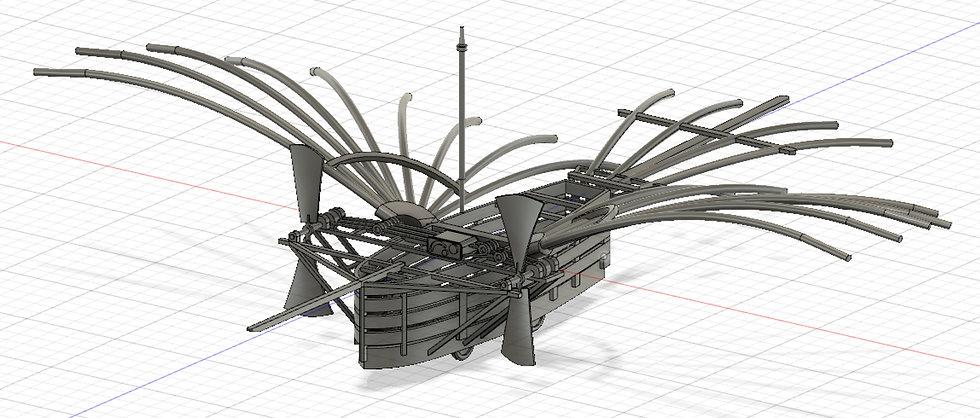 【3Dデータ】ホワイトヘッド飛行機 1/24サイズ