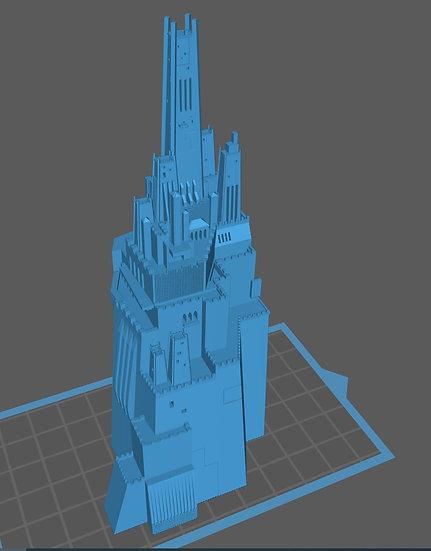 【3Dデータ】滝の岩城