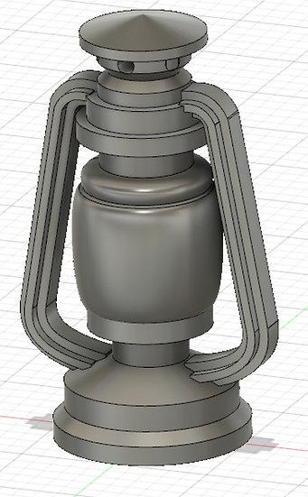 【3Dデータ】ランタン 1/24サイズ