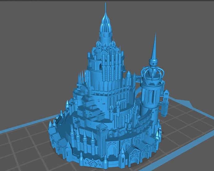 【3Dデータ】水上都市