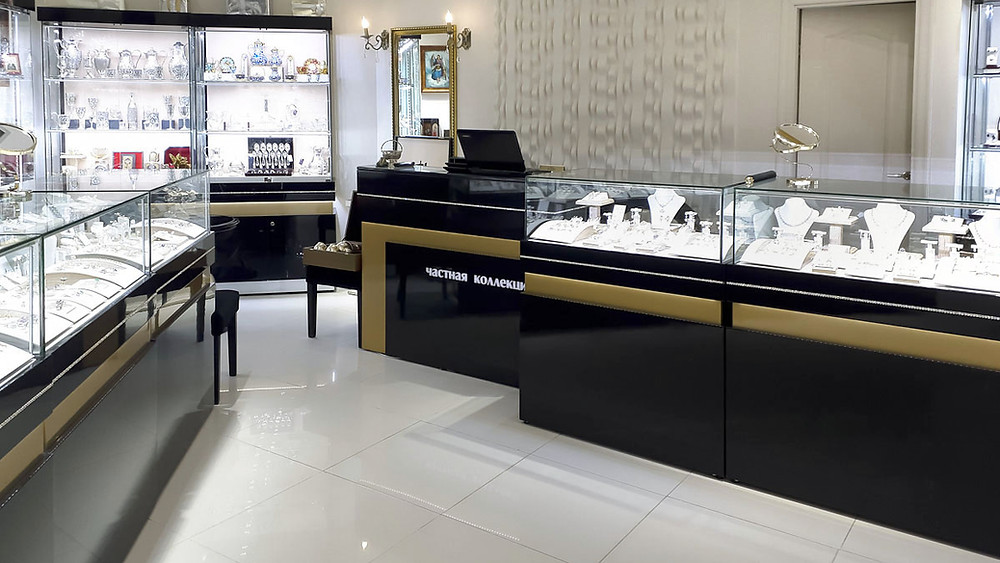 мебель для ювелирных салонов