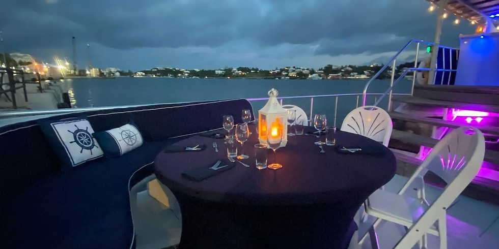 Sunset Dinner Cruise Thursday 20th May 6:00pm-9:00pm