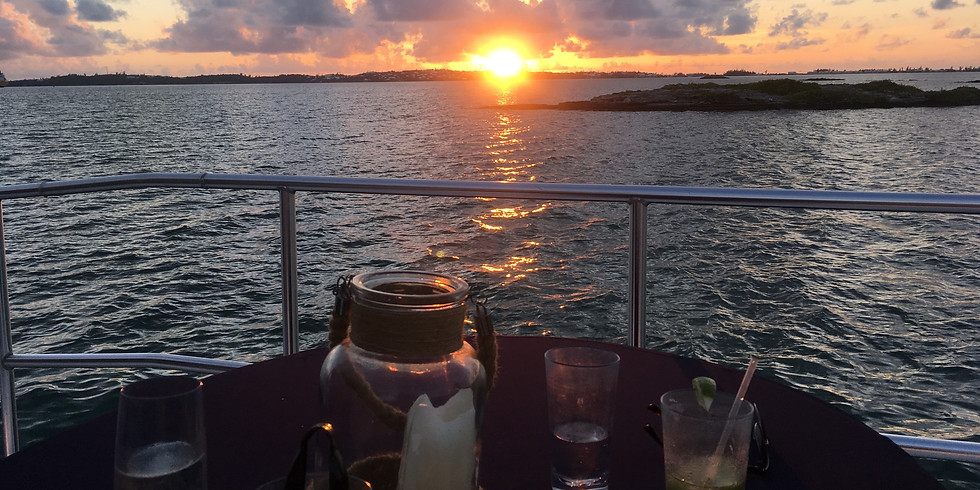 Sunset Dinner Cruise Thursday 8th July 6:00pm-9:00pm