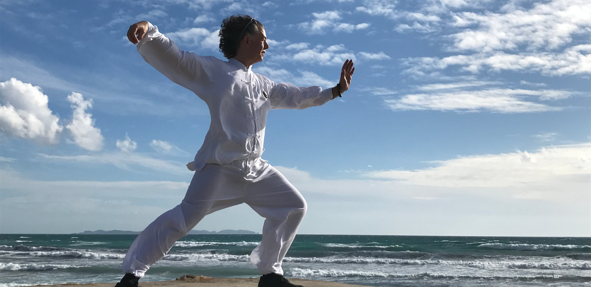 Qi Gong at the beach