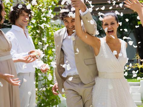 Sally and David's magical wedding
