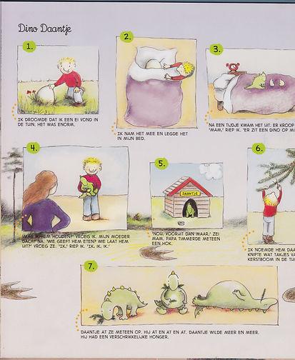 willewete dinosaurussen dino's barbara van rheenen illustratie eductatief kinderboek