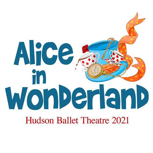 Alice in Wonderland 2021 DVD
