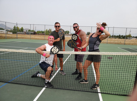 Motivation... PICKLE BALL!