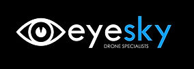 eyesky_drone specialists_white on black_