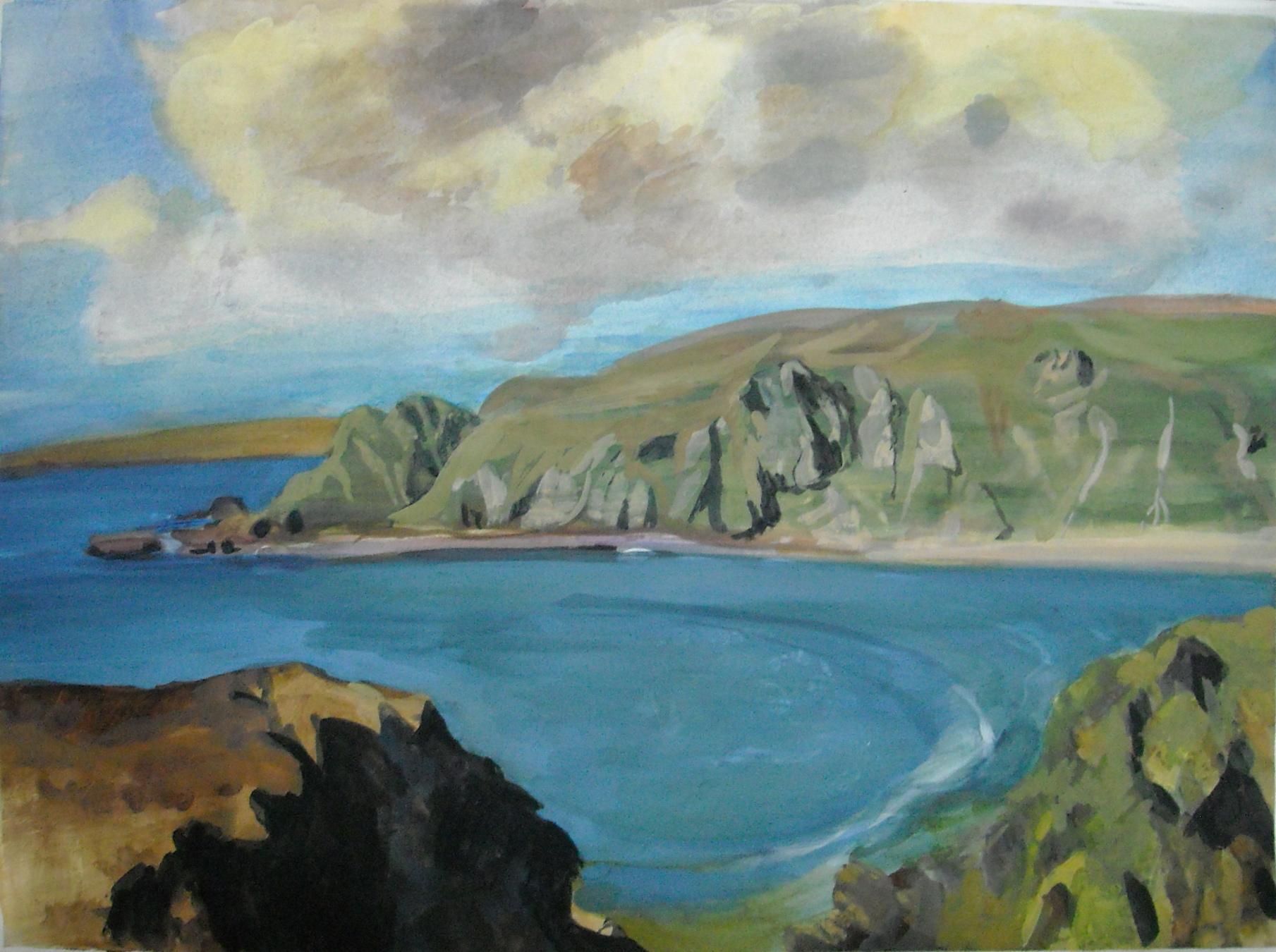 Sea Bay in Ireland