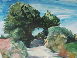Road and Trees   2013