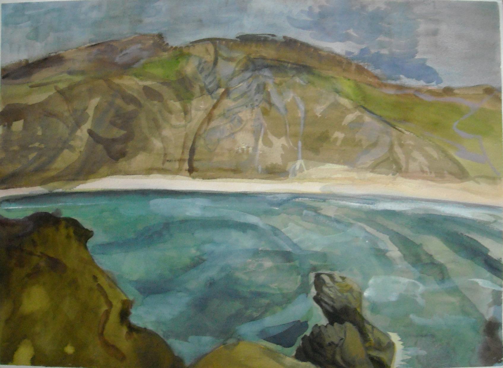 Coast in Ireland-
