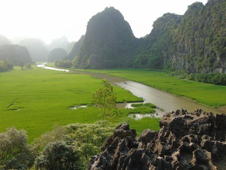 Ninh Binh et la réserve naturelle de Vân Long 🧡🧡