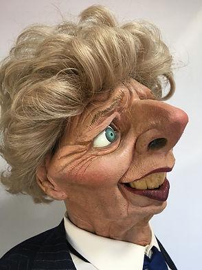 Maggie Thatcher Spitting Image Restorati