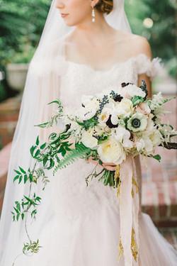 Anemones Bridal Bouquet