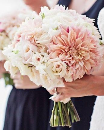 Dahlia Bridesmaids Bouquet