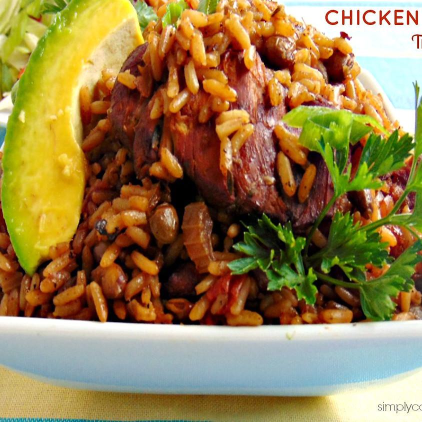 Trinidad Chicken Pelau Cooking Class (2)
