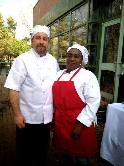Chef d and Mr B