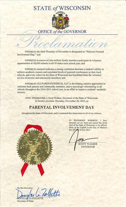 #National Parental Involvement Day