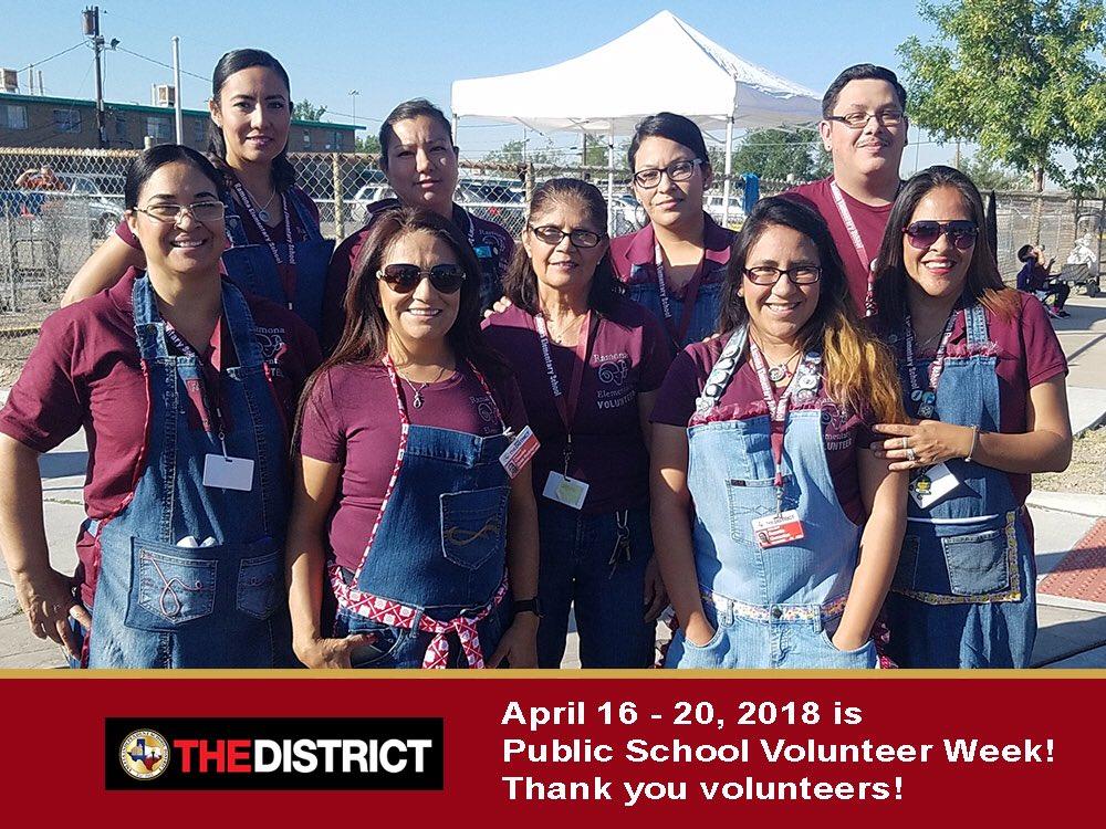 Public School Volunteer Week | Project Appleseed