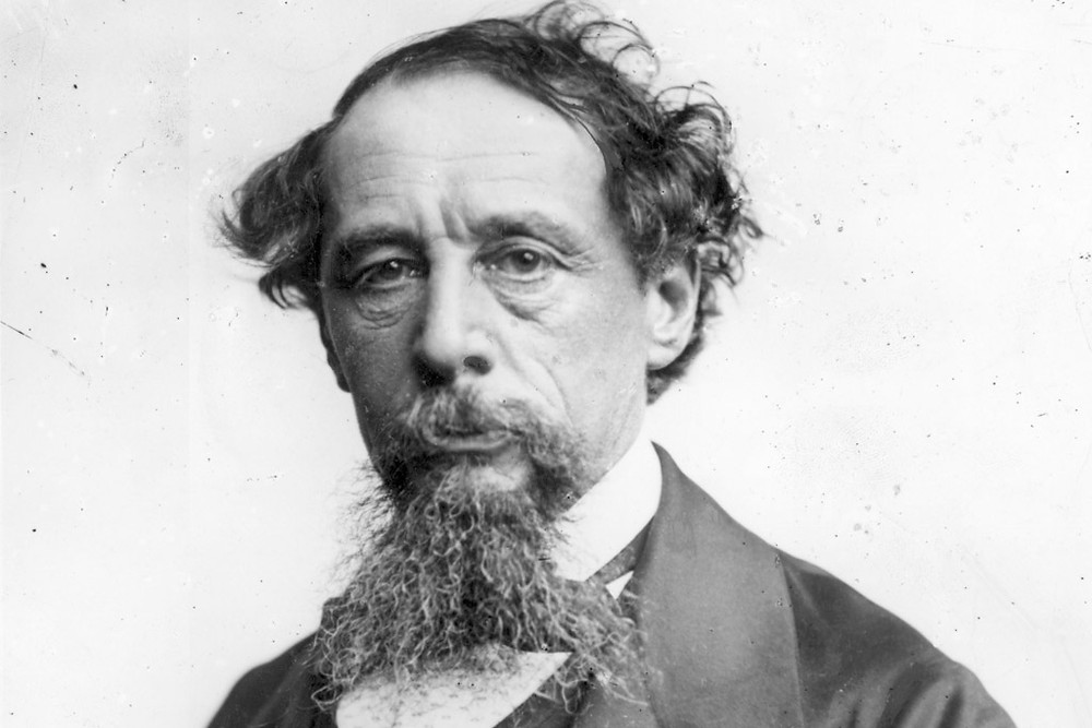 Dickens had a crazy hipster beard