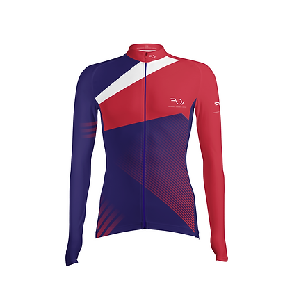 FULL SLEEVES JERSEY - Blue & Red