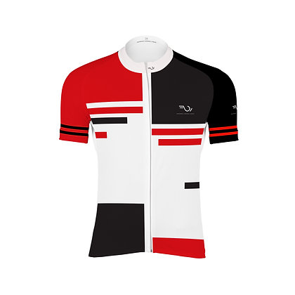 HALF SLEEVES JERSEY - White & Red