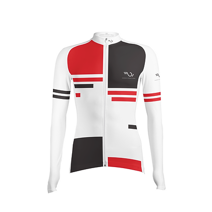 FULL SLEEVES JERSEY - White & Red