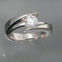 Fleur Wedding Ring