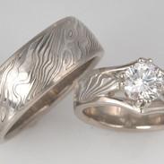 Mavis Wedding Ring Set
