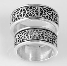 Celtic Knot Wedding Set