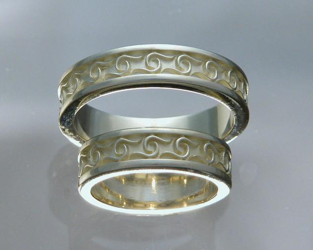 Ophelia Wedding Ring Set