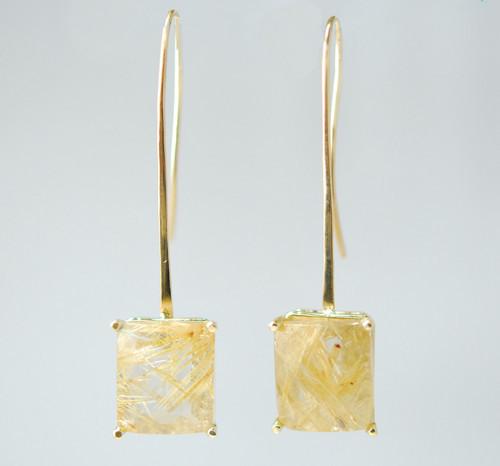 Maci Quartz Earrings